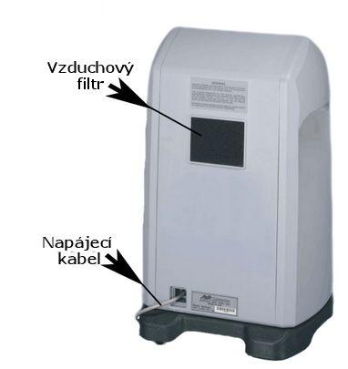 Kyslíkový koncentrátor, dýchací přístroj CAIRE NEW LIFE INTENSITY 10L - 1 výstup